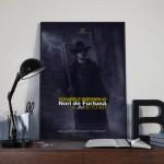 Poster Dosarele Dresden #1 pe birou