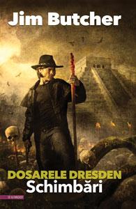 SCHIMBĂRI, Dosarele Dresden #12, de Jim Butcher, în traducerea Anei Veronica Mircea