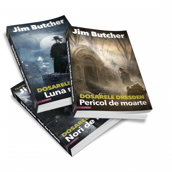 Dresden Files, volumele 1, 2 si 3